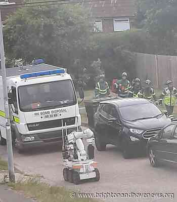 Man arrested and residents allowed home after bomb scare in Brighton - Brighton and Hove News
