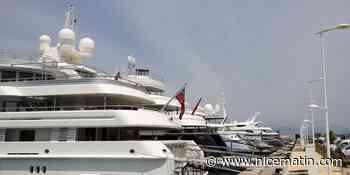 A Antibes, les méga-yachts hésitent à venir passer l'été
