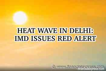 Heat wave in Delhi, IMD issues red alert! India witnessed highest temperature of the year in last two days