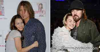 Sweet Niblets! Miley Cyrus and Billy Ray Cyrus Have Shared Some Cute Moments Over the Years - POPSUGAR