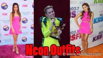 Selena Gomez, Miley Cyrus, Ariana Grande: Pick Up Your Favourite NEON Style - IWMBuzz