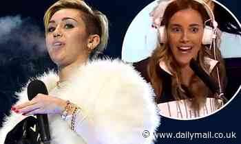 WAG Rebecca Judd claims American pop singer Miley Cyrus' husky voice is due to 'smoking darts' - Daily Mail