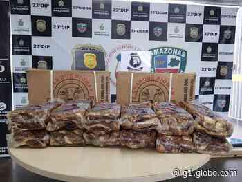Casal é preso por furtar carnes de supermercado em Manaus - G1