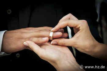 Heiraten auf dem Standesamt: Auch in Giengen wieder mehr Gäste erlaubt - Heidenheimer Zeitung