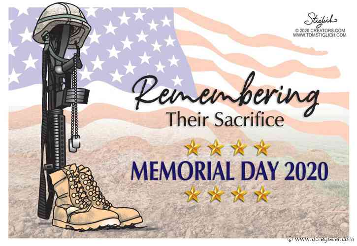 Remembering their sacrifice: Political Cartoons