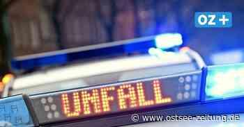 Zusammenstoß zweier Autos bei Ribnitz-Damgarten: Drei Personen verletzt - Ostsee Zeitung