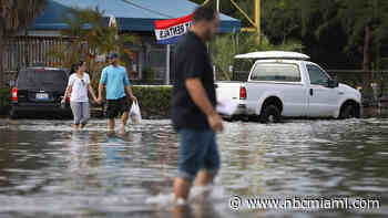 South Florida Feeling Soggy With Flood Watch Extended to Tuesday Morning