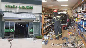 Minivan Crashes Into Central Florida Liquor Store, Injuring 3 People