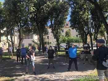 Quarto sabato di protesta per le Mascherine tricolori - lagazzettadiviareggio.it