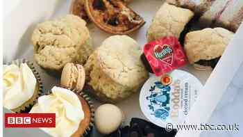 UK turns to delivery cream teas during lockdown