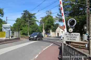 Le Coudray-Montceaux : le passage à niveau fermé jusqu'au 1er juillet - Le Parisien