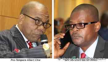 Dillon, Pro-Tempore clash - The New Dawn Liberia