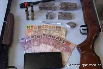 Casal é preso por tráfico de drogas em Cachoeira do Sul - GAZ