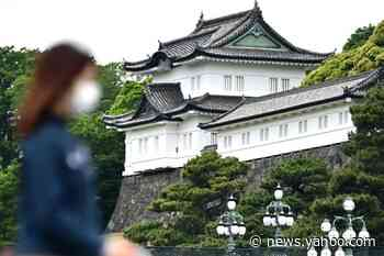 Man arrested after swimming moat to enter Japan palace grounds