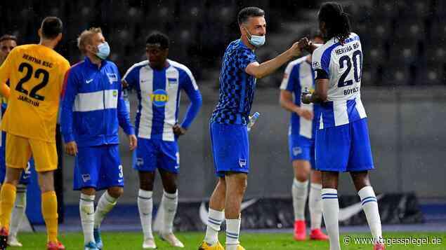 """Kolumne """"Auslaufen mit Lüdecke"""" : Sind das tatsächlich dieselben Spieler bei Hertha BSC?! - Tagesspiegel"""