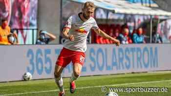 Knieprellung! RB Leipzig bangt vor Duell gegen Hertha BSC um Konrad Laimer - Sportbuzzer