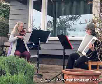 Vancouver Symphony Orchestra violinist serenades residents of West Vancouver care home (VIDEOS) - Vancouver Is Awesome