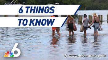6 Things to Know – Soggy Memorial Day for South Florida, Doctor Unveils 'Drive-Thru Botox'