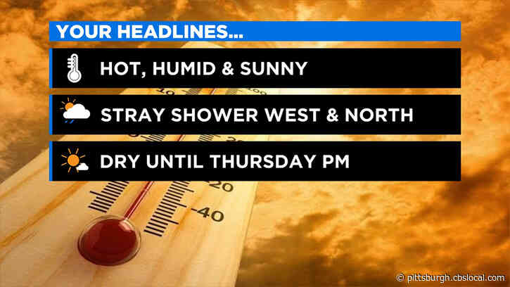 Pittsburgh Weather: Hot, Humid, And Sunny Memorial Day