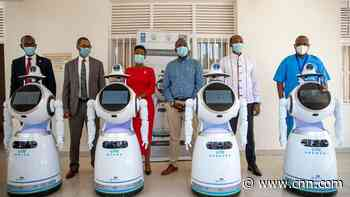 Rwanda has enlisted anti-epidemic robots in its fight against coronavirus - CNN