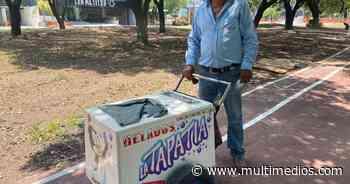 Paletero recorre las calles de San Pedro en busca de sustento para su familia - Multimedios