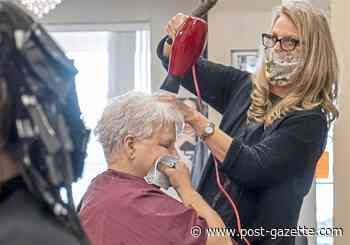 Pennsylvanians are heading across state lines for haircuts