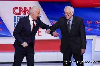 Bernie Sanders, iconoclast turned team player, leans in to help Joe Biden