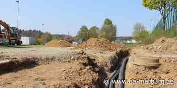 Baustopp - Arbeiten am Herrenwaldstadion trudeln aus - Oberhessische Presse