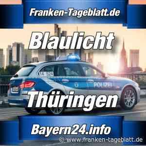 Schmalkalden - Spektakulärer Unfall auf einen Schotterweg - Bayern24