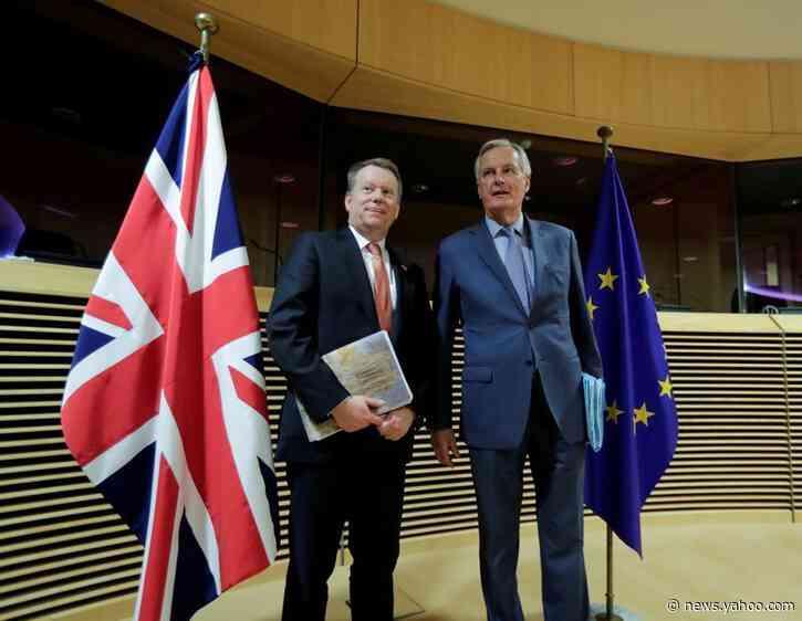 Bust-up over climate weighs on EU-UK talks, risks trade rifts