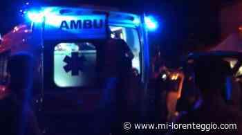 Corsico. Incidente in via Vittorio Emanuele, auto sfonda transenna del Naviglio - Mi-Lorenteggio
