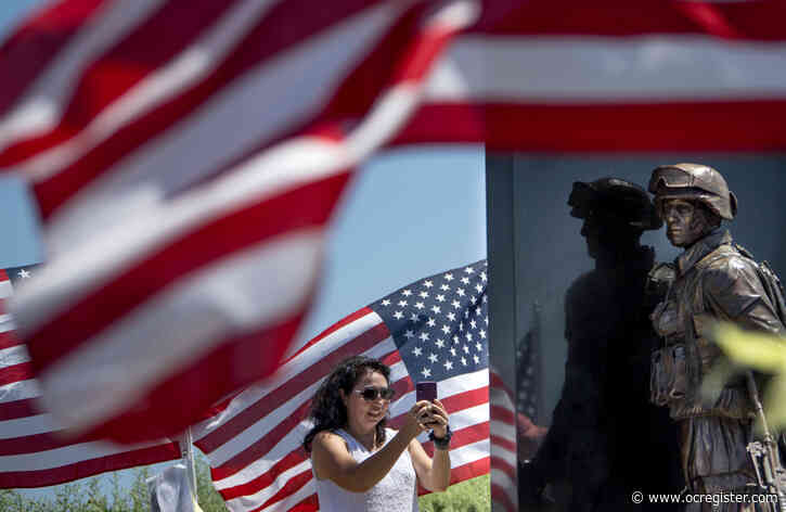 Orange County quietly honors Memorial Day while fighting an invisible foe