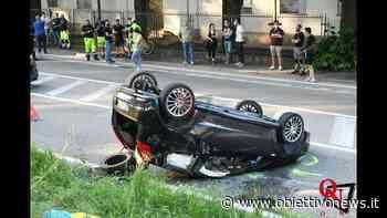 """VENARIA REALE – Incidente sulla """"Direttissima"""", coinvolte una vespa e due auto (FOTO E VIDEO) - ObiettivoNews"""