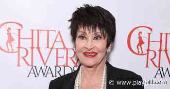 Spend An Evening With Chita Rivera and Friends on Stars in the House May 23 - Playbill.com