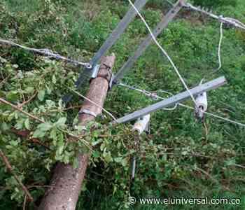 Reparan daños en redes eléctricas ocasionadas por vendaval en Mahates - El Universal - Colombia