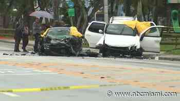 Woman Killed, Man Critical After 2-Car Crash in NW Miami-Dade