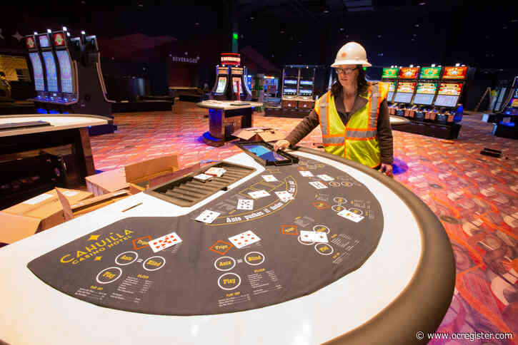Cahuilla Casino Hotel moves past coronavirus setback, gets ready to open