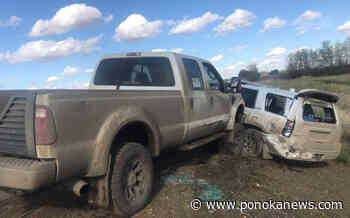 Wetaskiwin RCMP arrest impaired driver following police car ramming - Ponoka News