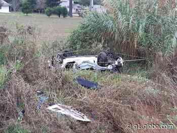 Homem morre em acidente na BR-277, em Palmeira - G1