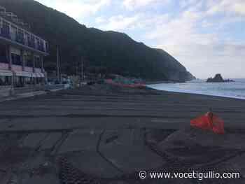 Sestri Levante, lavori in fase di ultimazione e poi le spiagge possono riaprire - La Voce del Tigullio