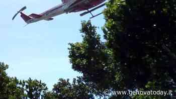Biker cade sulle alture di Sestri Levante, intervento dell'elisoccorso - GenovaToday
