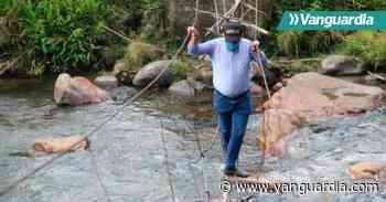 Piden ayuda del departamento para un puente rural en Mogotes - Vanguardia