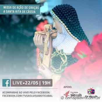 Fique On: Missa será transmitida diretamente pela TV São Luis Jaboticabal - Com a Palavra