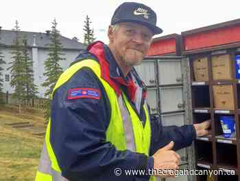 Art for art's sake – Patrick Weiss, Canmore mail carrier