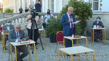 Election dans un jardin : le maire de Gradignan élu dans un cadre inédit - France 3 Régions