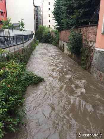 Maltempo: il torrente Lura è esondato a Rho ma (per ora) ha graziato il Saronnese - ilSaronno