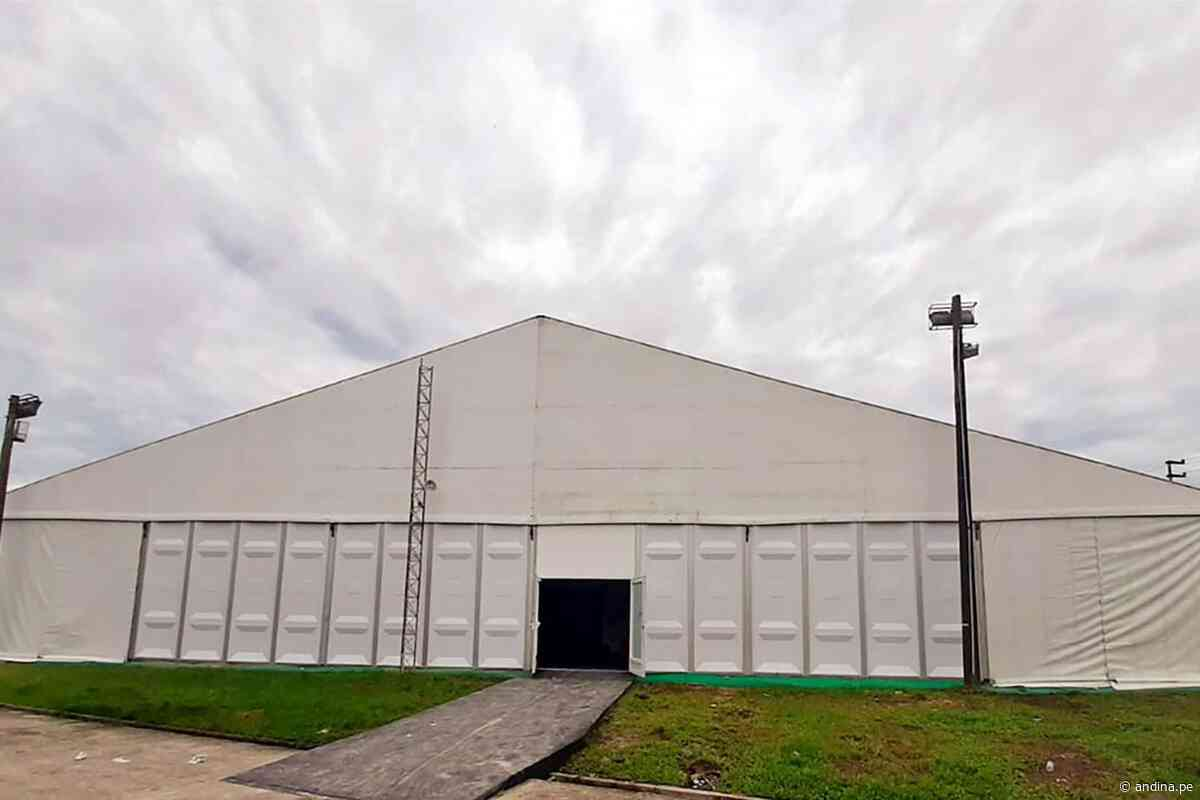 Legado Lima 2019 instalará hospitales temporales en Lima, Huacho y Cañete - Agencia Andina