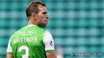 Hibernian: Steven Whittaker among those exiting Easter Road