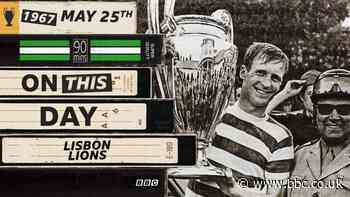 On This Day: Celtic's Lisbon Lions gave birth to attacking football mantra