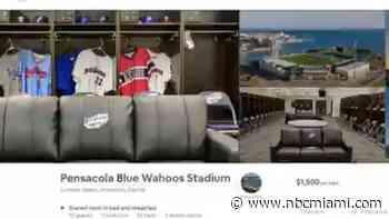 Minor League Baseball Team Lists Stadium on AirBnB for $1,500